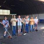Nettoyage Hangar + Barbecue