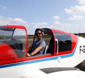 Lâcher en vol local pour Diego