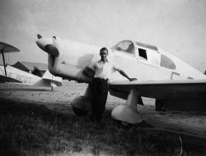1950 Guerchais Roche T35 Aéro-club de Courbevoie
