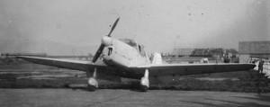 1950 Guerchais Roche T35 de Face Aéro-club de Courbevoie