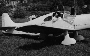1950 Baptême à la Frette Sur Seine Aéro-club de Courbevoie