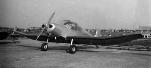 1953-1958 Jodel D112 de face Aéro-club de Courbevoie