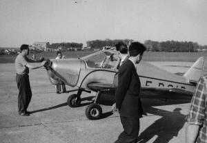 1953-1958 Démarrage du Jodel D112 Aéro-club de Courbevoie