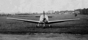 1955 Morane Saulnier 603 de face Aéro-club de Courbevoie