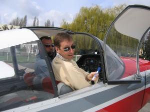 Départ pour un cours pratique en vol