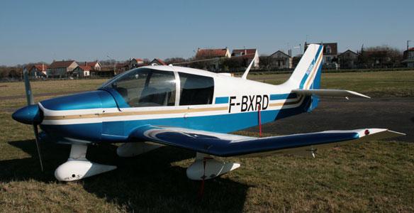 F-BXRD Robin DR 400 140B « DAUPHIN  4 » Aéro-club de Courbevoie