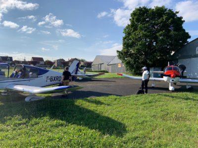 Préparation avions